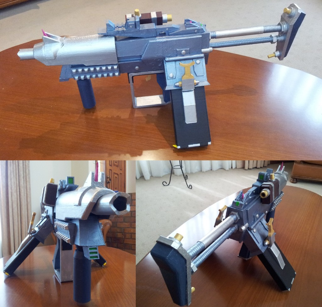 Akurate Slagga, Borderlands 2. All props designed by us.