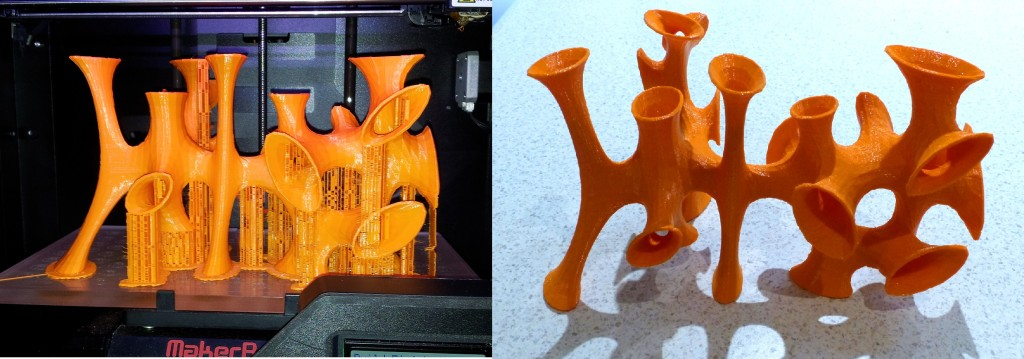 Before and After support removal. Design owned by Yang Jiang