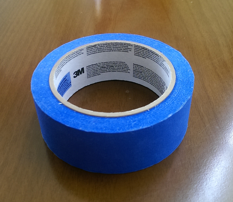 For PLA printers, you almost always start by printing onto Blue tape. This is specifically the 3M 'Edge Lock' 2090 variant, not 2093 or other brands. RRP: $10 AUD
