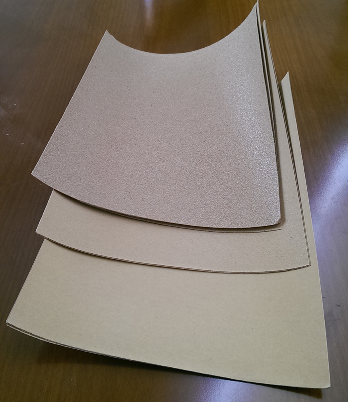 Various grades of sandpaper also help to clean up prints and help prime surfaces to be painted. RRP: $5 AUD